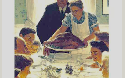 What Does Rockwell's Painting Ask?