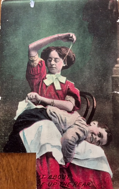 Caption Needed: Vintage Postcard